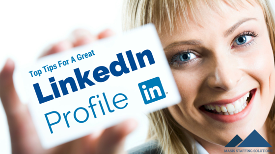 linked in profile tips