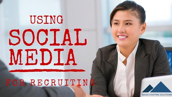 Social Media for Recruiting