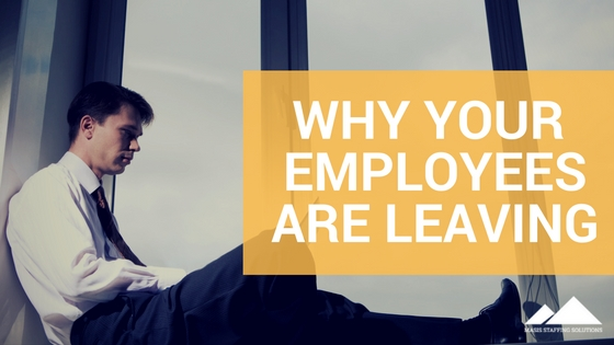 Why your employees are leaving