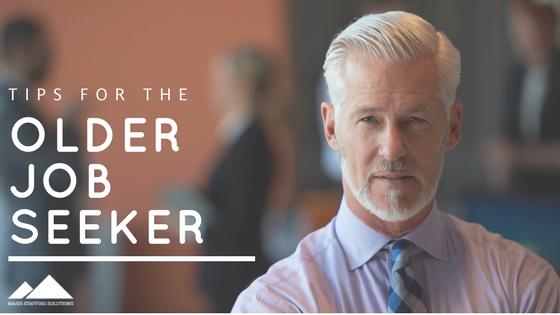 tips for the older job seeker