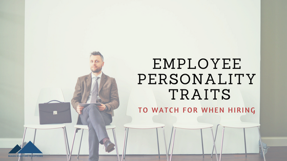 employee personality traits