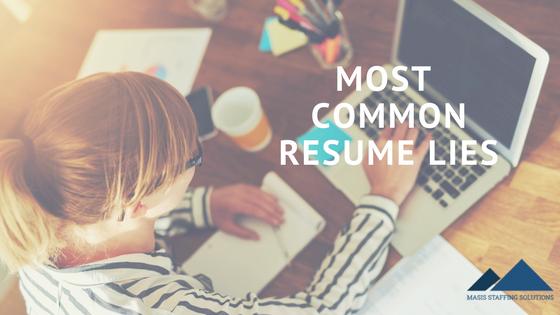 resume lies